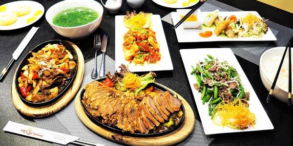 Autentické vietnamské menu pro partu až 8 osob