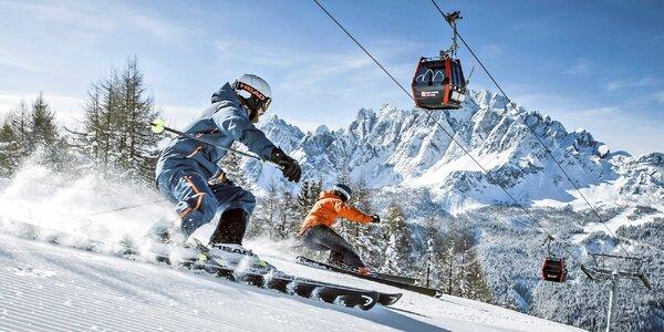 Lyžařský zájezd do Dolomit s polopenzí i skipasem