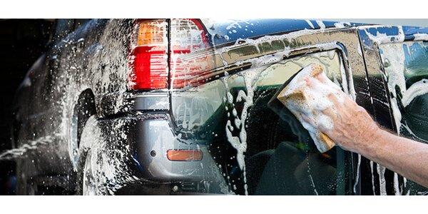 Ruční mytí a ošetření vozidla