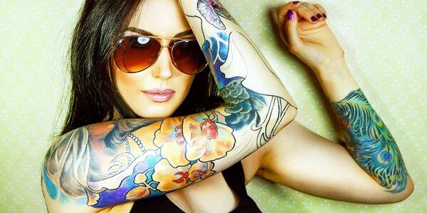 Tetování podle výběru vč. konzultace a návrhu