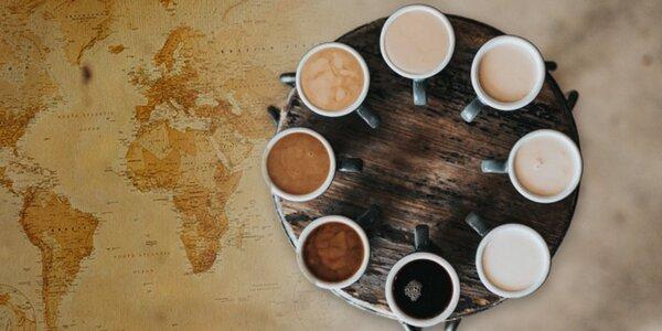 Jedinečná přednáška o kávě včetně ochutnávky