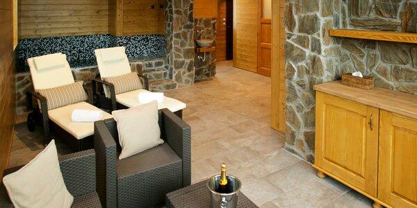 Privátní vířivka a sauna až pro 4 požitkáře