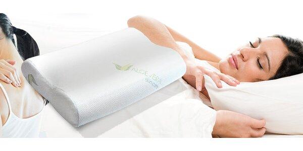 Pohodlný polštář s paměťovou pěnou