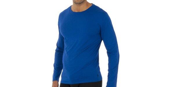Světle modré triko Polo Ralph Lauren s dlouhým rukávem