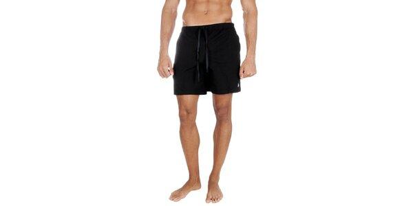 Pánské černé bavlněné šortky Polo Ralph Lauren