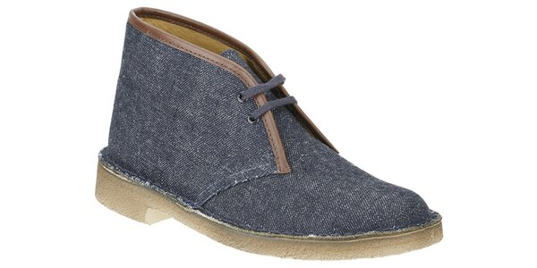 Dámské kotníčkové denimové boty Clarks