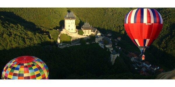 Vyhlídkový let balonem na 60 min