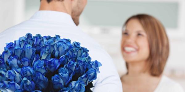 Kytice modrých růží Blue Vendela a rozvoz po ČR