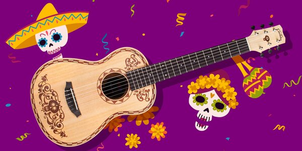 Klasická 3⁄4 kytara zn. Cordoba z animáku Coco