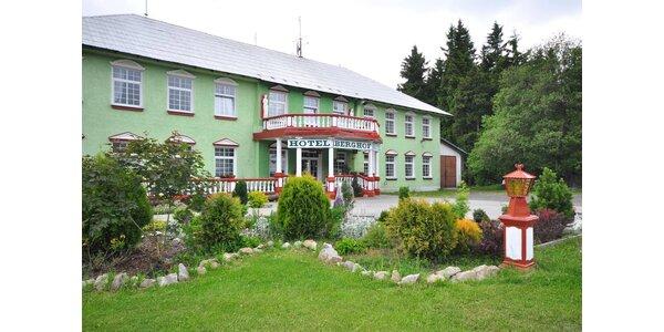 Krušné hory: 3* hotel polopenzí a výlety