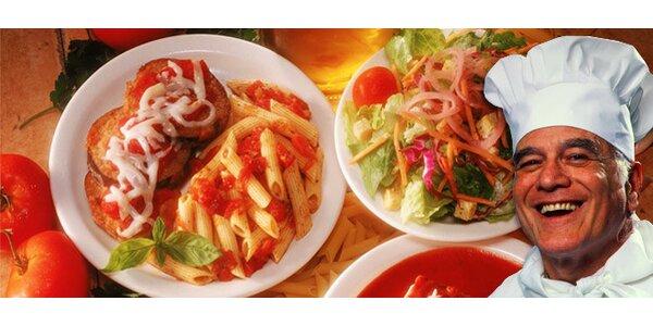 Jakékoliv jídlo znabídky restaurace Paluba, rozvoz zdarma