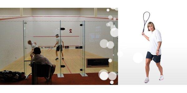 Pouhých 95 Kč za HODINU squashe v ZONE4YOU se slevou 73%!