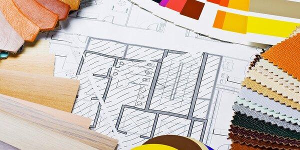 Profesionální 3D návrh interiéru 1 místnosti