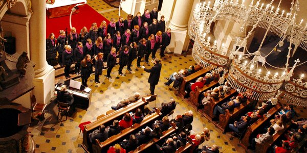 Vstupenka na koncert Cancioneta Praga & klavír