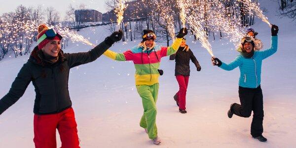 Silvestr na Vysočině s wellness a zábavou