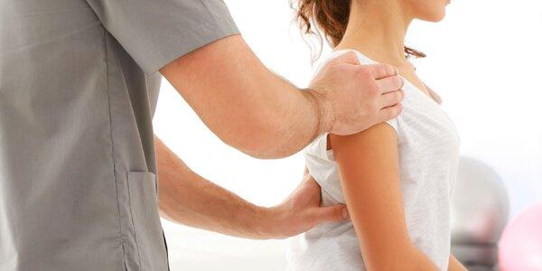 Terapeutická masáž a nácvik nových pohybových návyků