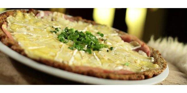 DVA obří zapečené bramboráky s masem nebo sýrem
