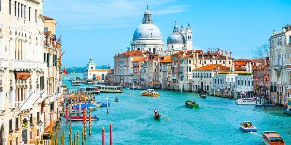Jaro nebo léto v Benátkách se snídaněmi