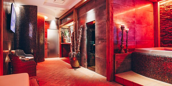 Romantika v luxusním wellness & spa U Vinice