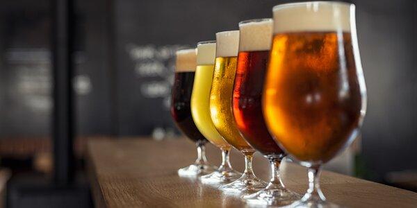 120 minut ochutnávání pivní historie pro jednoho