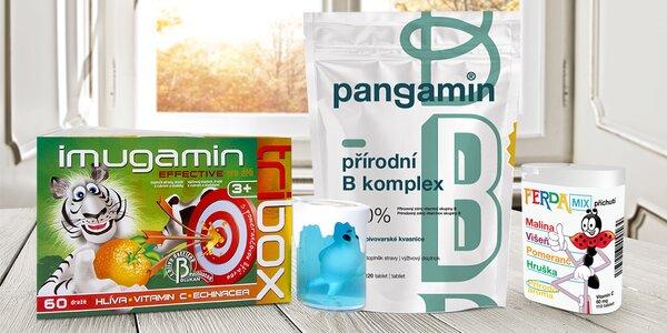 Doplňky stravy vč. pangaminu pro posílení imunity