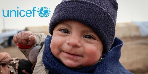 O Vánocích hrdinou: pomozte s UNICEF dětem