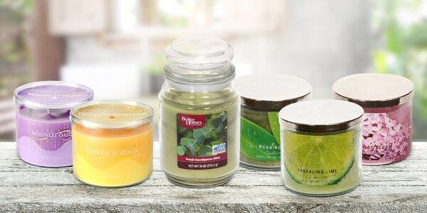 Provoňte svůj domov luxusními svíčkami Candle Lite