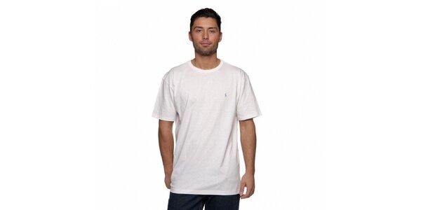 Sněhově bílé triko Ralph Lauren s logem