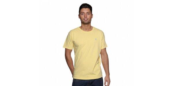 Pánské žluté tričko Ralph Lauren