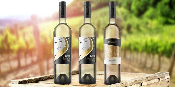 6 oceněných klaretů z Rodinného vinařství Břeclav