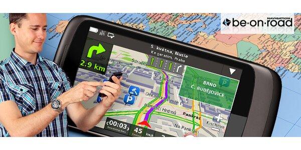Navigační software pro chytré telefony a tablety