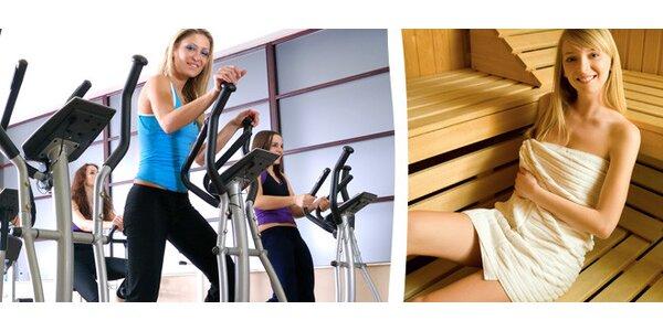 Vstup do fitness a 60 minut sauny nebo páry.