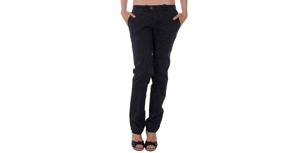 Dámské černé slim kalhoty Tommy Hilfiger