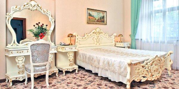 Romantika v centru Krumlova se snídaní či polopenzí