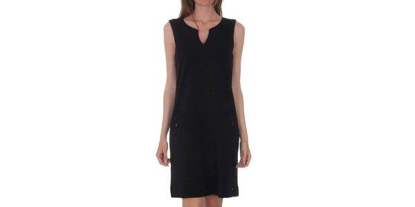 Dámské černé šaty Tommy Hilfiger se zipem