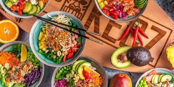 Kurz přípravy tradičního havajského jídla poke bowl