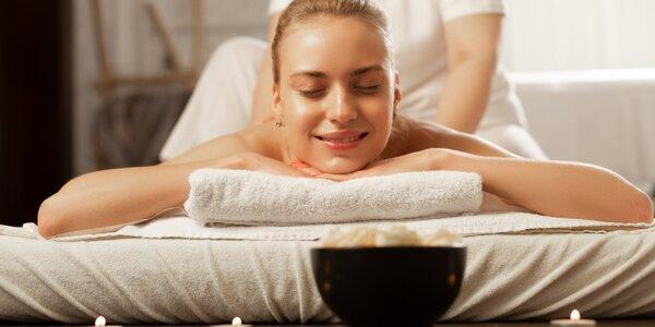 Relax před svátky: hodinová uvolňující masáž