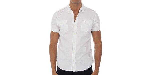 Pánská bílá košile Tommy Hilfiger