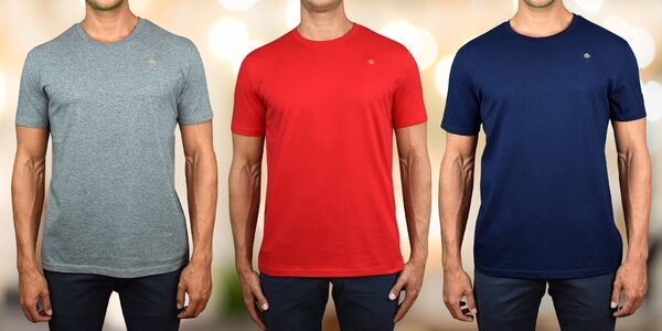 Pánské tričko ze 100% bio bavlny s certifikací