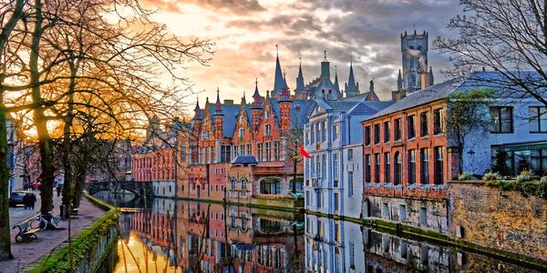 Valentýnský výlet: Bruggy s dopravou a průvodcem