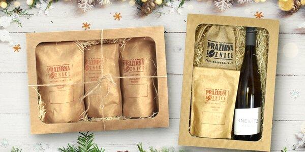 Dárkové balení káv z rodinné pražírny