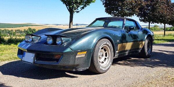 Jízda ve sportovním veteránu Chevrolet Corvette