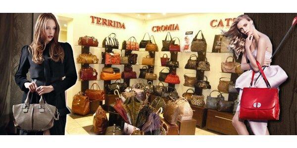 Nákup zboží v luxusní kožené galanterii v hodnotě 1000 Kč