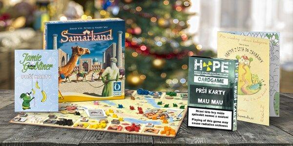 Vánoční balíčky deskových i karetních her