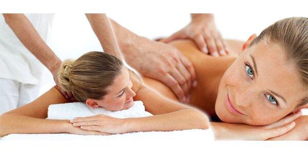 Klasická relaxační masáž celého těla v centru Brna