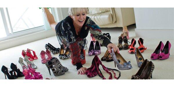Voucher na nákup módní obuvi vhodnotě 700 Kč