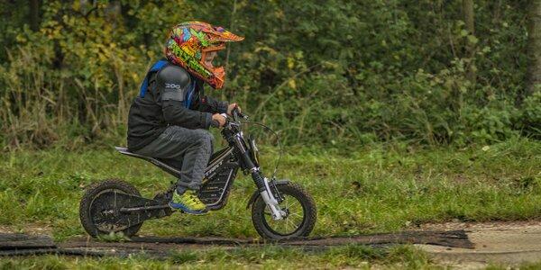 Elektrické motorky na půjčení pro děti až na týden