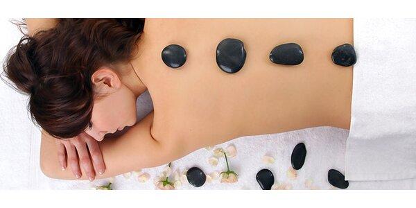 Klasická, aroma masáž i lávové kameny