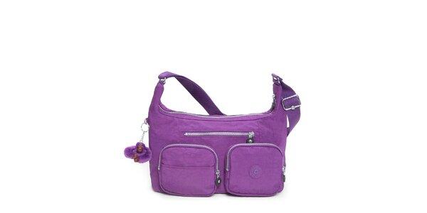 02aded196c6 Dámská purpurová taštička Kipling se dvěma kapsičkami