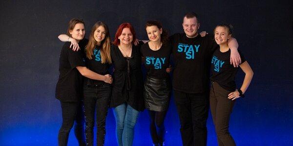5hodinový divadelní workshop v Divadle Stay Si